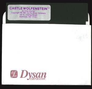 Castle wolfenstein 2932 disk sleeve front