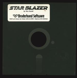 Star blazer disk front