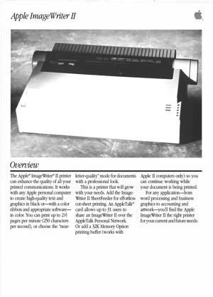 Apple imagewriter ii 8703