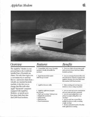 Applefax modem 8808