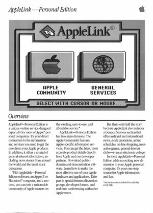 Applelink personal edition 8805