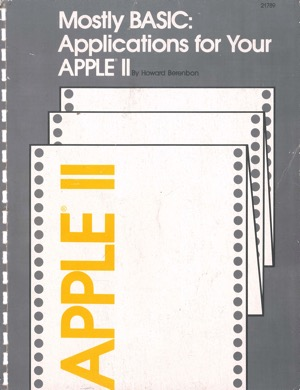 Berenbon 1980 mostly basic applications for your apple ii