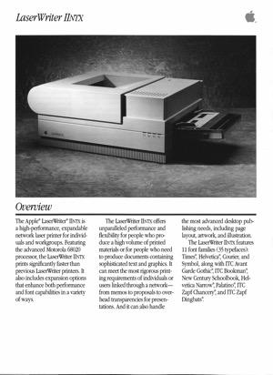 Laserwriter iintx 8806