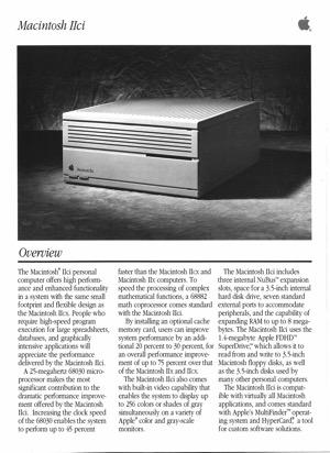 Macintosh iici 8909