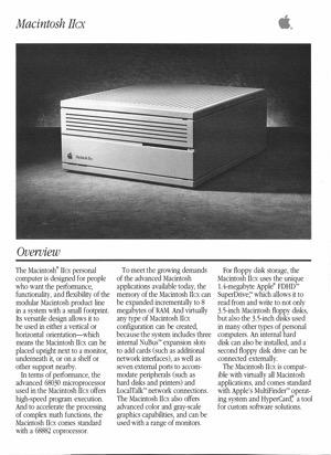 Macintosh iicx 8909