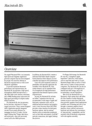 Macintosh iifx 9003