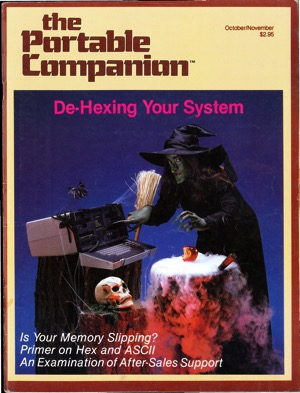Portable companion 1982 10 cover