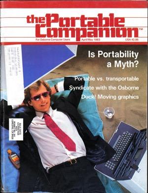 Portable companion 1983 04 05 cover