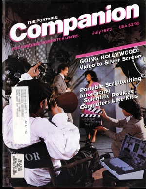 Portable companion 1983 07 cover
