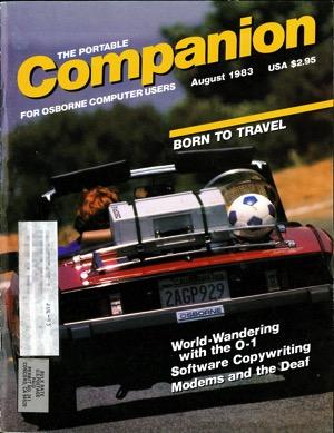 Portable companion 1983 08 cover