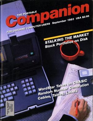 Portable companion 1983 09 cover