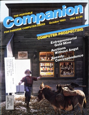 Portable companion 1983 10 cover