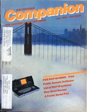 Portable companion 1984 06 07 cover