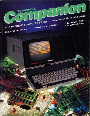 Portable companion 1984 11 cover