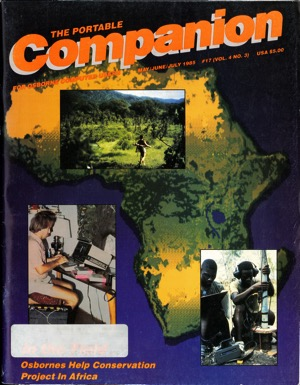 Portable companion 1985 05 07 cover