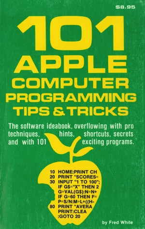 White 1982 101 apple programming tricks