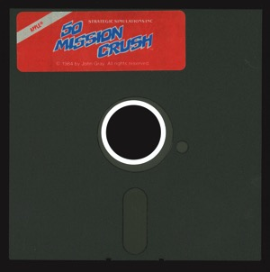 50 mission crush disk front