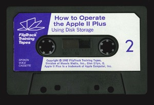 How to operate the apple ii plus tape2a