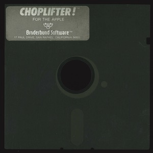 Choplifter 1164 disk front