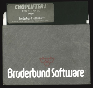 Choplifter 1164 disk sleeve front