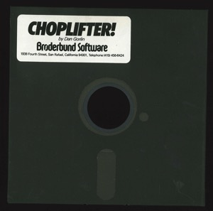 Choplifter 7232 disk front