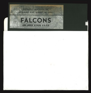 Falcons 9157 disk sleeve front