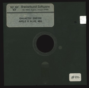 Galactic empire 4013 disk front