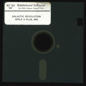 Galactic revolution disk 4243 front