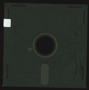Galactic trader 3998 disk back