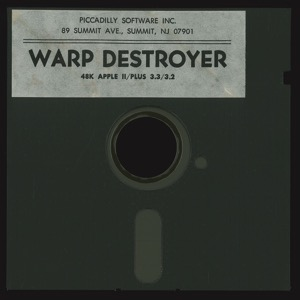 Warp destroyer disk front