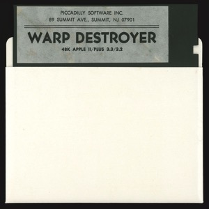 Warp destroyer disk sleeve front